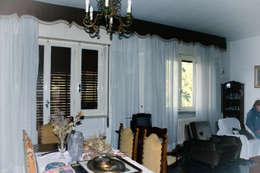 ristrutturazione e arredo di un appartamento anni '50: Sala da pranzo in stile in stile Moderno di Flavia Benigni Architetto