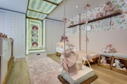 Cuartos infantiles de estilo moderno por Bernacki Arquitetura