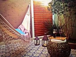 Jardines de invierno de estilo ecléctico por Caio Pelisson - Arquitetura e Design