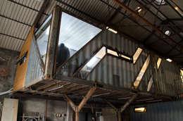 貨櫃辦公室:   by 王家建築師事務所