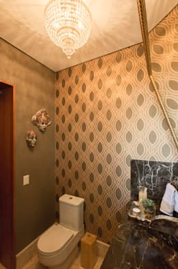 حمام تنفيذ Viviane Bertolini Designer de Interiores