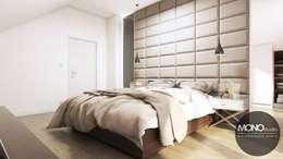 غرفة نوم تنفيذ MONOstudio