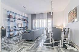 Salas / recibidores de estilo moderno por Facile Ristrutturare