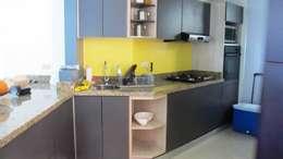 Cocinas de estilo moderno por Grupo Moix SAS