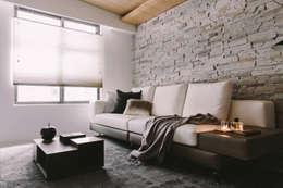 غرفة المعيشة تنفيذ 澄穆空間設計