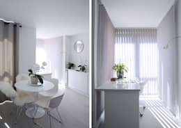 minimalistic Study/office by Collective Works