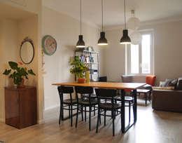 scandinavische Eetkamer door Archenjoy - Studio di Architettura -