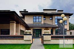 ДОМ на ОЗЕРЕ: Дома в . Автор – Архитектурная Мастерская Георгия Пряничникова