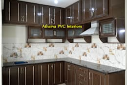 PVC Modular Kitchen: modern Kitchen by Atharva PVC Interiors
