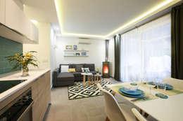 mediterranean Living room by DIKA estudio