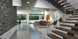 Casa 17: Salas / recibidores de estilo moderno por Vivian Dembo Arquitectura