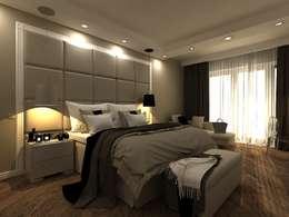 Квартира в Уфе: Спальни в . Автор – AM Design