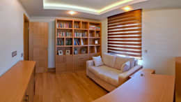eclectic Study/office by Attelia Tasarim