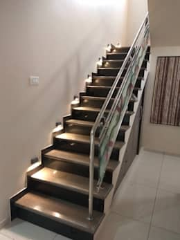 Proposed Interior Of Bungalow.: modern Corridor, hallway & stairs by KANAKIA INTERIOR AND CONSULTANCY