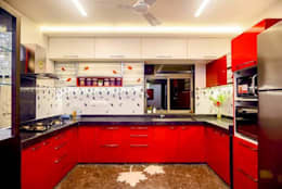Proposed Interior Of 3BHK Flat: classic Kitchen by KANAKIA INTERIOR AND CONSULTANCY