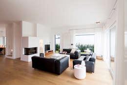 Гостиная в . Автор – Ferreira | Verfürth Architekten