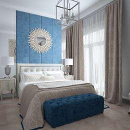 Projekty,  Sypialnia zaprojektowane przez Инна Азорская