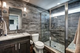 Award Winning Winslow Project: classic Bathroom by Futurian Systems