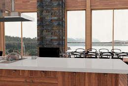 Casa CZ: Cocinas de estilo moderno por Smartlive Studio
