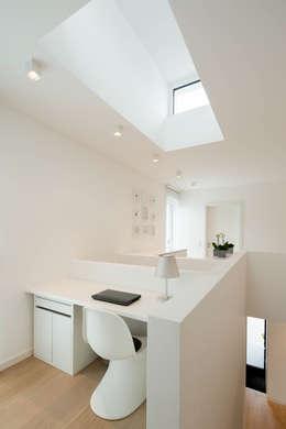 moderne Studeerkamer/kantoor door Ferreira | Verfürth Architekten