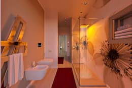Projekty,  Łazienka zaprojektowane przez Annalisa Carli