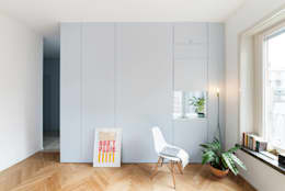 Salones de estilo moderno de studio wok