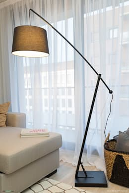 scandinavian Living room by Pia Estudi