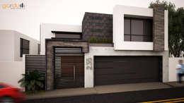 Casas de estilo minimalista por GarDu Arquitectos
