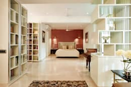parents bedroom: modern Bedroom by Interface