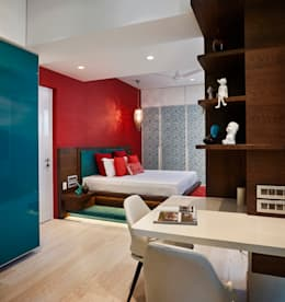 girls room: modern Bedroom by Interface