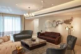 formal living room: modern Living room by Interface