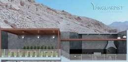 PROYECTO TERRAZA Y DISCOTECA LA PLANICIE - LIMA PERU: Terrazas de estilo  por Vanguardist Design Studio