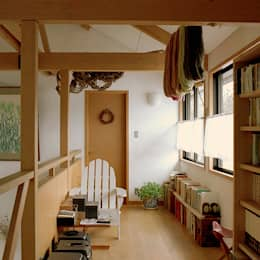 2階 フト: 竹内建築設計事務所が手掛けた和室です。