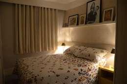 eclectic Bedroom by Alvaro Camiña Arquitetura e Urbanismo