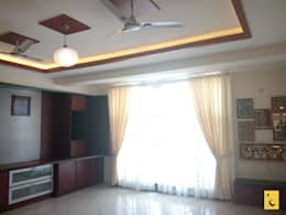 Horizon Homes, Mangalore: modern Living room by Indoor Concepts