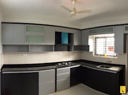Bellisima, Mangalore: modern Kitchen by Indoor Concepts