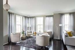 Viva Vogue - Sitting: modern Living room by Lorna Gross Interior Design