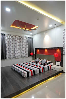 design and execution in Pune: asian Bedroom by HappyLiveIn