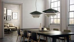 modern Living room by Rufo Iluminación