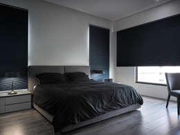 minimalistic Bedroom by Taipei Base Design Center