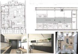 Nhà bếp by Architecture d'intérieur CA