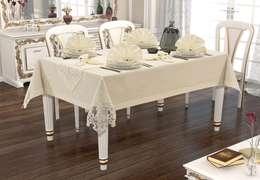 Sofra Takımları – Linen Lale Sofra Takımı : klasik tarz tarz Yemek Odası