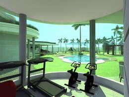 modern Gym by Caio Pelisson - Arquitetura e Design