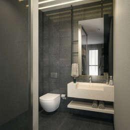 Ванная комната в . Автор – Voltaj Tasarım