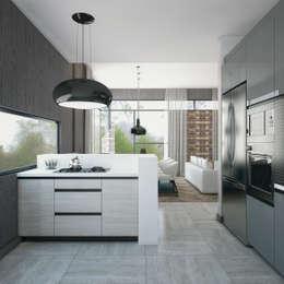 Кухня в . Автор – Voltaj Tasarım