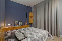 Cuartos de estilo moderno por Botti Arquitetura e Interiores-Natália Botelho e Paola Corteletti