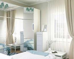 Projekty,  Sypialnia zaprojektowane przez Loft&Home