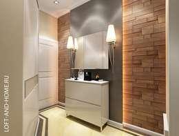 Projekty,  Korytarz, przedpokój zaprojektowane przez Loft&Home
