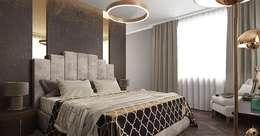 Стиль и роскошь Ар-Деко: Спальни в . Автор – дизайн-студия PandaDom