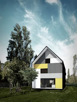 Vivienda Cabox: Casas de estilo moderno por BDB Arquitectura